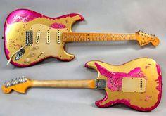 Guitar Blog: Fender Custom Shop Gold over Paisley Heavy Relic Stratocaster