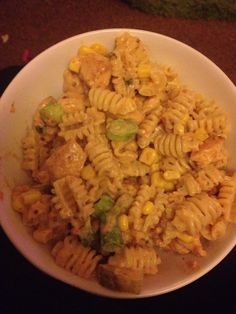 Slimming world chicken & bacon pasta Free on extra easy!!