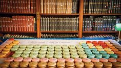 Periodic Table of Macarons  - The Cut, NYMag