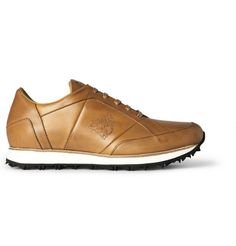 Mr. Hare Vonnegut Leather Sneakers | MR PORTER