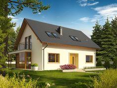Proiecte casa cu mansarda pe 70 de mp