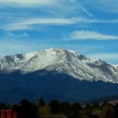 Beautiful Colorado Springs, Colorado ~Pikes Peak~