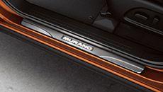 2015 Nissan Murano kick plate | Nissan USA Exterior Colors, Interior And Exterior, Crossover Suv, Kick Plate, Nissan Murano, Automobile, Plates, Cars, Usa