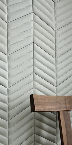 Studioart Losange City cielo stitched Leather Wall Panels, Fabric Panels, Fabric Wall Panel, Padded Wall, Tiles Texture, Acoustic Panels, Interior Walls, Interior Design, Wall Patterns