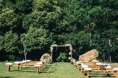 casamento no campo publicado pelo blog de casamento Colher de Chá Noivas