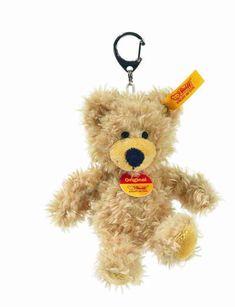 STEIFF Lotte Teddy Bear Keyring EAN 111785 12cm Handbag charm White NEW