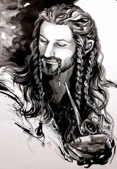 Explore the The Hobbit and LOTR collection - the favourite images chosen by angelus-regina on DeviantArt. Tauriel, Legolas, Fili Et Kili, Gandalf, Thranduil, Hobbit Art, O Hobbit, Hobbit Films, Lotr