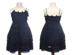 @Twin-Set Simona Barbieri Girl Spring Summer 2014, blue cotton dress #blue #twinset #twinsetgirl #SS14 #spring #summer #springsummer2014 #childrens #kids #childrenswear #kidswear #kidsfashion #girls