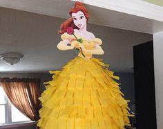 Disney princesa Pinata Elsa Ana Rapunzel por BobbiGirlBoutique