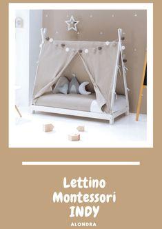 culla-lettino Lella structure blanc textile blanc