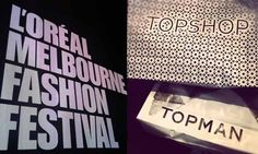 L'Oreal Melbourne Fashion Week what's not to love?
