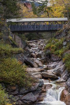 Sentinel Pine Covered Bridge, New Hampshire