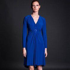 Diamond Jersey Dress