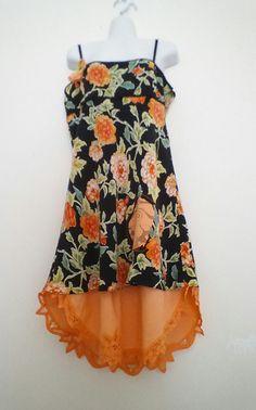 Hand Dyed Silk Dress Summer Dress Bohemian by Optimists4Creativity
