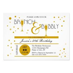 The 9 best hh birthday ideas images on pinterest birthday brunch brunch and bubbly birthday invitation filmwisefo