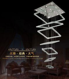 2015 Modern stainless steel 7 Rings Crystal LED Chandelier Light Fixture Crystal Light Lustre led Light 178W AC110-260V