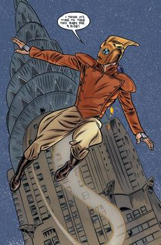 The Rocketeer by Michael Allred