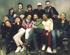 The Walking Dead Cast at Walker Stalker Con London on February 21, 2016