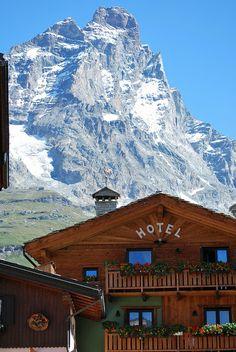 Breuil-Cervinia, Valle d'Aosta, Italy   #BnBGenius #lifeisajourney