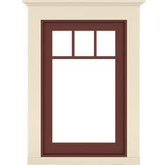 Craftsman Bungalow Window Example