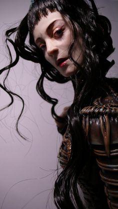 "Virginie Ropars | ""Lunah"" | #dolls"