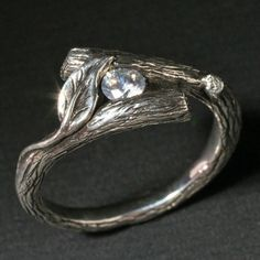 This etsy seller has some really amazing rings for those that enjoy more aesthetically organic jewelry pieces.