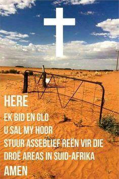 Afrikaans, My Jesus, Prayer Board, Wind Turbine, Christianity, Prayers, Places To Visit, Spirituality, Africa