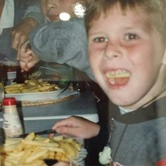As we can see, Phillip being quite a lovely child..