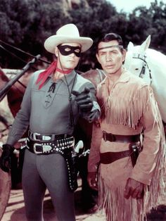 The Lone Ranger and Tonto. Clayton Moore and Jay Silverheels. 768×1 024 пикс