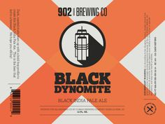 902 Brewing Co. Label Concept