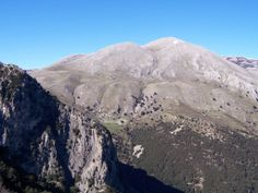Mountains from Parco delle Madonie