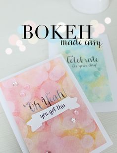 Stamp Away With Me: August 2014 Release Week - Bokeh Made Easy