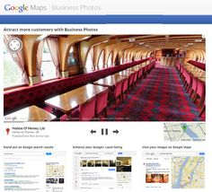 Google Maps on the Inside: Featuring Google Business Photos
