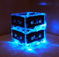 casset tape night light