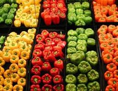 my all time favorite food - peppers.  yum.