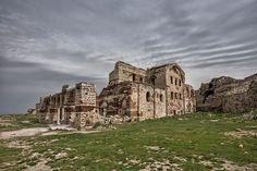 Ruins of Hagia Sophia church at Enez, Edirne