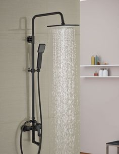 shower heads that connect to the faucet. Luxury Oil Rubbed Bronze 8  Square Rain Shower Head Faucet Tub Spout Wall Mounted View The Hansgrohe 27164 Raindance Connect Kit With 10