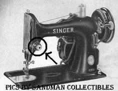 to identify your old cast metal Singer Sewing machines manufactured prior to 1960. Just answer the simple questions about your machine by clicking on the answer links and hopefully you will be able to identify it.  [Worked for me!]