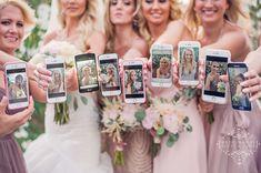 Super cute Bridesmaids portrait! Selfie!