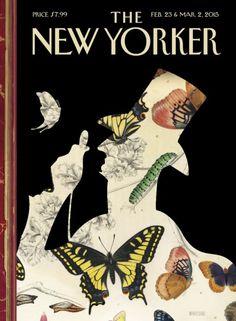 """#MagLove 20 February 2015: """"Yo-landi Visser DAZED"""". The New Yorker, 23 February 2015: Peter Mendelsund."""