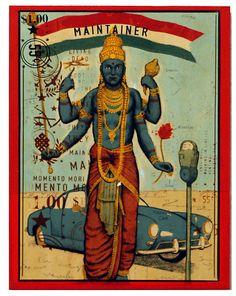 Ravi Zupa, Vishnu
