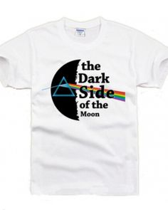 Rock Pink Floyd 3xl t shirt short sleeve the dark side of the moon tee cheap-