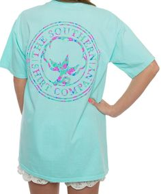 This super soft Flower Logo Tee is a favorite with the ladies. Every color goes perfect with chocolates!