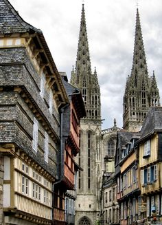 Quimper, Brittany, France (by OlyaA (busy) )
