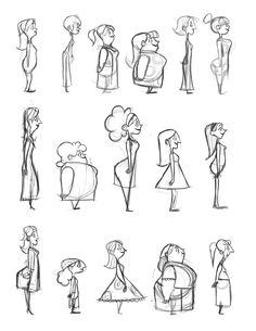 Hier kommt der Knurren - Concept Art on Behance - malen - Karikatur Area Character Sketches, Character Design Animation, Character Design References, Character Drawing, Character Concept Art, Character Design Tutorial, Good Character, Character Inspiration, Concept Art Tutorial