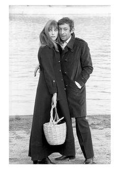 Karen Millen autumn/winter 2015_Jane Birkin and Serge Gainsbourg_Inspiration Shot