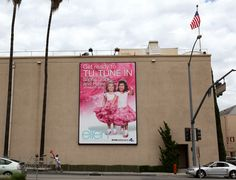 The girls get a billboard!
