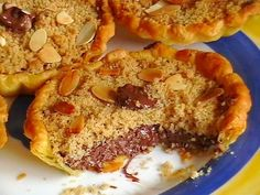 Tartelettes crumble au Nutella Fondant, Biscuits, French Toast, Menu, Pie, Breakfast, Recipes, Food, Comme