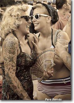 Rockabilly gals