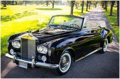1964 ROLLS-ROYCE SILVER CLOUD III H.J. MULLINER CONVERTIBLE #LSCX843 70,084 MILES #rollsroycevintagecars